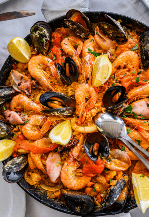 Paella royale le point gourmand