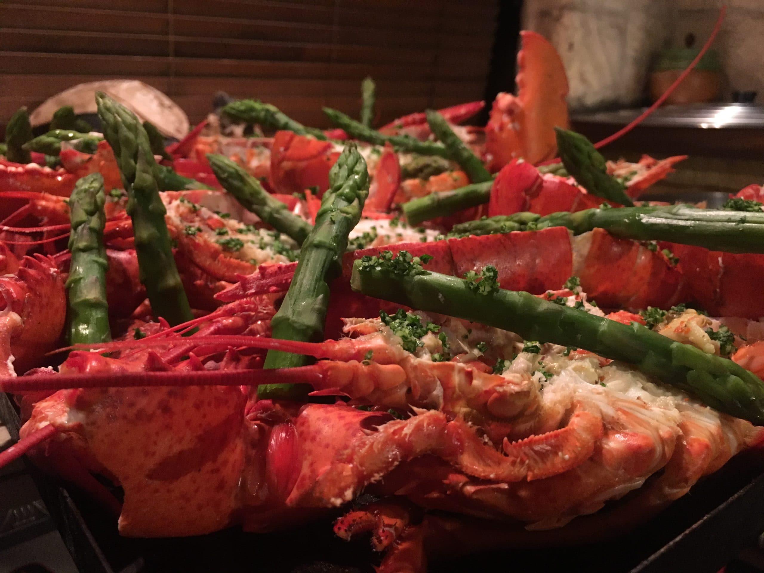 pates aux homard le point gourmand traiteur