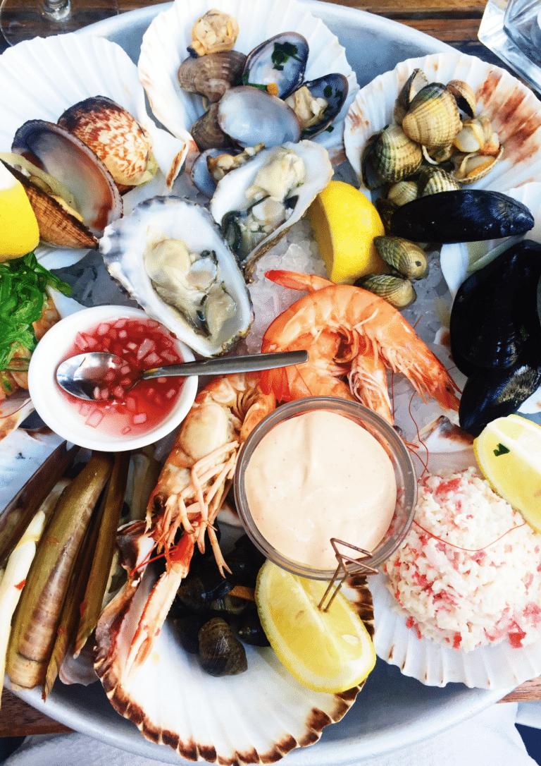 Noël plateau de fruits de mer traiteur le point gourmand